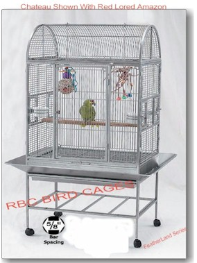 Stainless Steel Bird Cages featherland